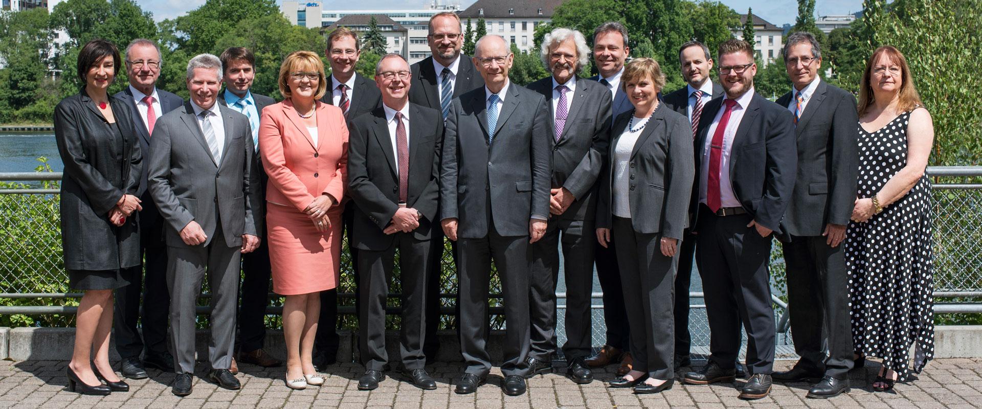 Vorstand der Steuerberaterkammer Nordbaden
